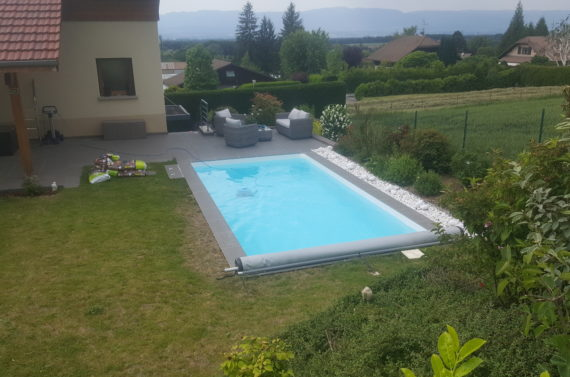 Piscine à Saint Cergues 6 m x 3 m